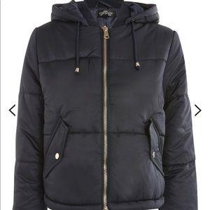 Topshop puffer jacket